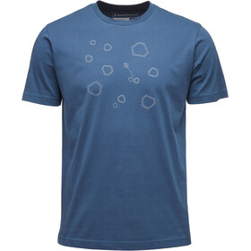 Black Diamond Hexteroid t-shirt Heren blauw